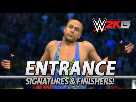WWE 2K15: RVD Entrance, Signatures & Finishers (Includes OMG Moment!)