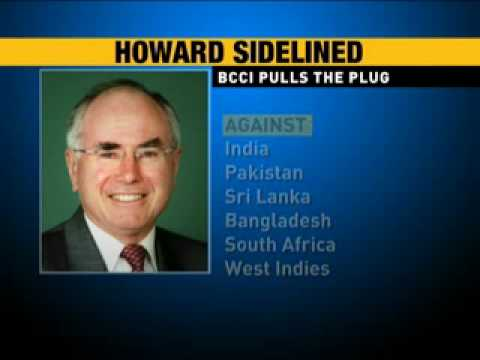 John Howard's nomination rejected by ICC