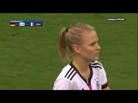 SheBelieves Cup. Germany - France (03/03/2016)