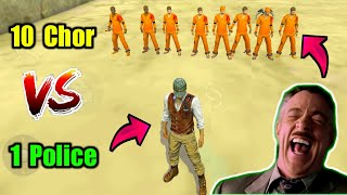 Chor vs Police Funniest Prank On Factory😂👌1 vs 10 Situation!!
