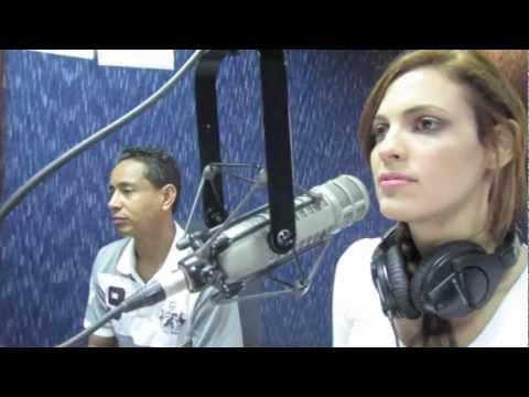 PARTE 1/3: Entrevista Dulcita Lieggi @ Uepa Radio Show, Distrito Nacional Miss RD 2012