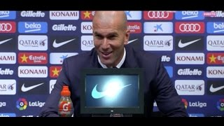Rueda de prensa post partido | Zidane | Barcelona 1-1 Real Madrid.