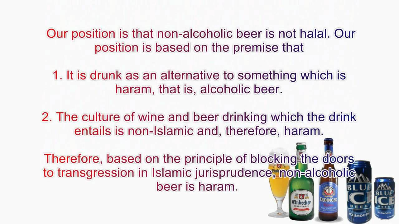 Muslims Drinking Beer