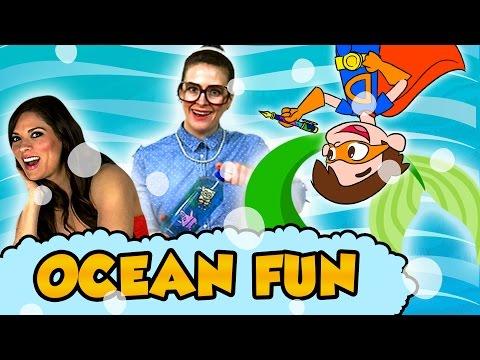 Beach Fun and Under The Sea Adventures! - Sharks, Mermaids, Pirates, Sandcastles, Sea Monsters!