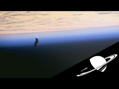 Un satellite extra-terrestre autour de l'ISS