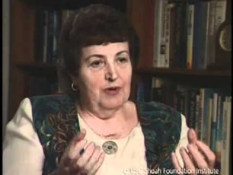 Jewish Survivor Alicia Appleman-Jurman Testimony