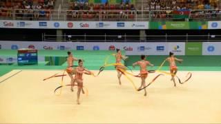 Rio de Janeiro - Test Event - FLASH Ritmica: Concorso Generale a Squadre