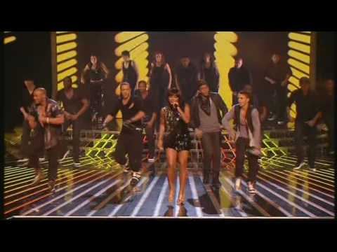 Alexandra Burke & JLS duet - X Factor Final 2009 - HD!