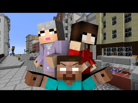 If Herobrine Had A Grandma - Minecraft
