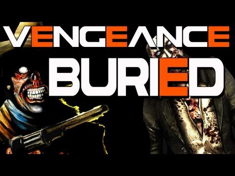 "Black Ops 2 Zombies: ""BURIED"" New Zombies Map + Ray Gun Mark II on ""VENGEANCE"" Map Pack DLC -"