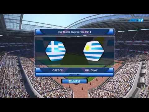 Mundial De Futbol Serbia 2014 Grupo G Uruguay vs Grecia
