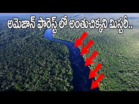 సైంటిస్టులకు సవాల్ విసురుతున్న అమెజాన్ రైన్ ఫారెస్ట్  Boiling River In Amazon Rain Forest