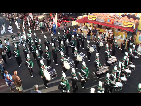 Kaiser HS - Rhythm Madness - FINALS - 2014 L.A. County Fair Marching Band Competition