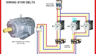 mqdefault 3 phase star delta 3gp mp4 hd video download,3 Phase Delta Motor Wiring Diagram