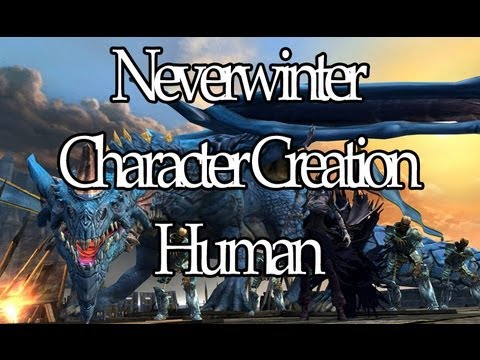 Massively - Neverwinter Beta - Character Creation: Human
