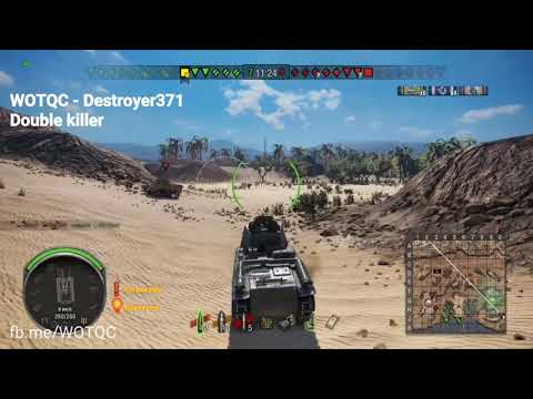 WOTQC - Destroyer371 - World of Tanks Xbox - CQC with the LeFH18B2