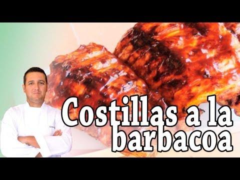 Costillas a la barbacoa - Recetas de cocina