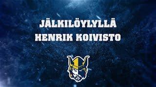 Jälkilöylyllä Henrik Koivisto