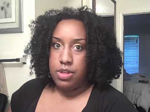 Crochet braids  using  kanekalon hair
