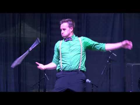 Dylan Radford - Circus Performer - 2017 W.C. Fair