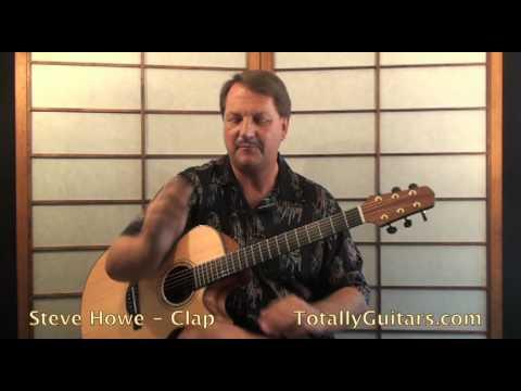 Steve Howe - Yes - Clap Acoustic Guitar lesson