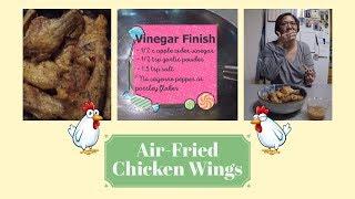 Air-Fried Salt & Vinegar Chicken Wings