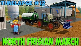 Farming simulator 17 North Frisian March Map v 2.0 Timelapse ep#12