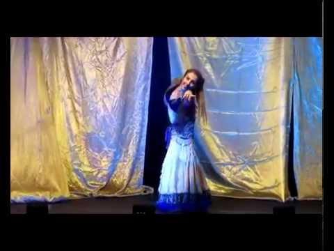 Latin-arabic Belly Dance Fusion With Cris! Basimah From Santa Barbara - Mercado Persa 2012 video