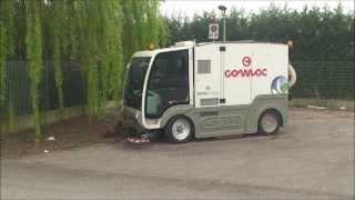 Comac street sweeper CS140 Twin Action