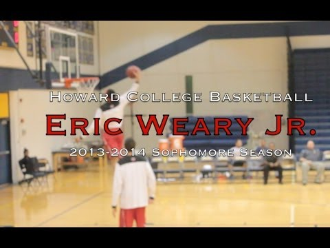 Eric Weary Jr. #23 2013-2014 Howard College