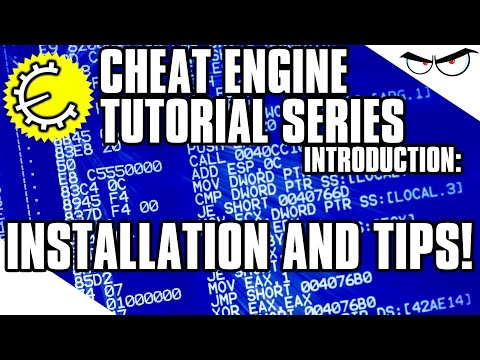 Cheat Engine 6.3   6.4 Tutorial Series Intro: Installation and quick tips