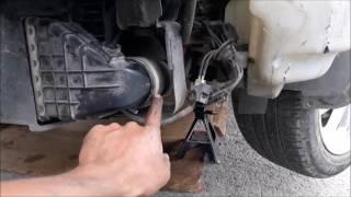 Volvo S40 alto consumo de gasolina y Humo negro, Intercooler Perforado
