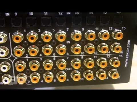 CEDIA 2013: ZEKTOR Shows Off Their DSP Pre-Amp Audio Matrix