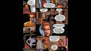 Star Trek ~ Deep Space Nine Malibu 28 ~ Friend and Foe Alike #comics