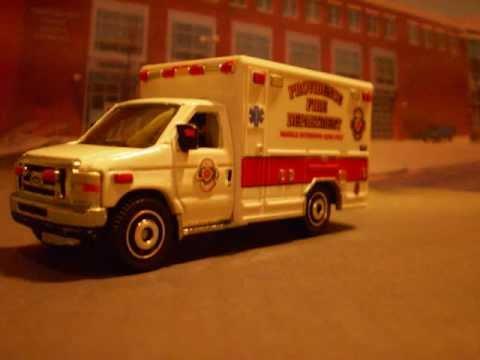 Matchbox Ford E350 Ambulance Matchbox Ford E-350 Ambulance
