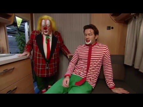 Clown Bassie ( van Bassie en Adriaan..) bij Campinglife 2016
