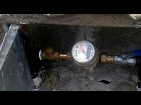 Contador de instalacion youtube - Contador de agua ...