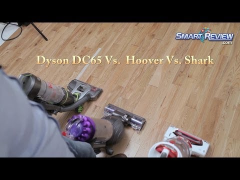 Dyson 2014   Dyson DC65 Animal Vacuum vs. Hoover Air Pro vs. Shark Rotator   Upright Bagless Vacuums