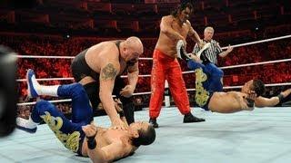 Big Show & The Great Khali vs. Primo & Epico: Raw, April 16, 2012