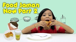 KATA BOCAH tentang Cheese Tart, Chizza, Cheese Tea (Food Jaman Now Part 2) | #23
