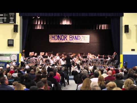 2014 Mid-Hudson Valley Catholic School Junior Honor Band - The Trumpeteers