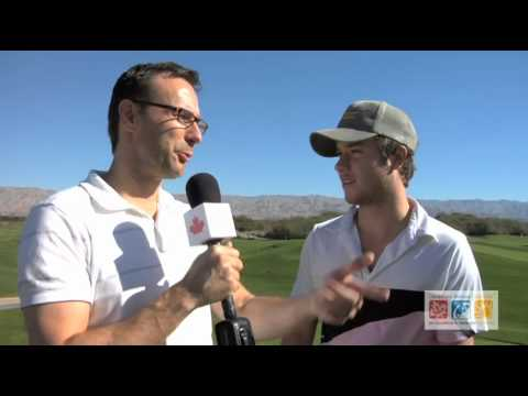 Canadians Abroad interviews Jeremy Sumpter on the Golf Course