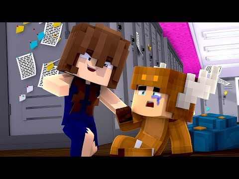 Minecraft Daycare - GIRLFRIEND BULLIES BABY! w/ MooseCraft (Minecraft Kids Roleplay)