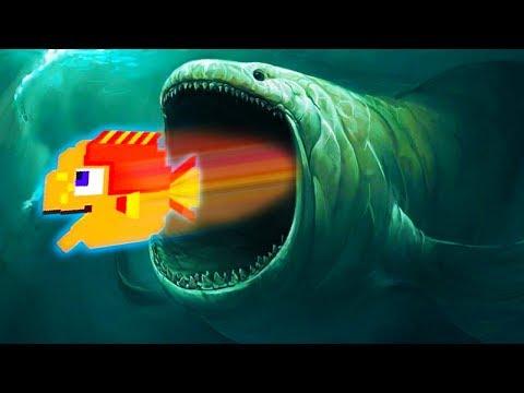 Я маленькая рыбка и меня хотят все СЪЕСТЬ в прикольной детской игре для телефона про симулятор рыбы