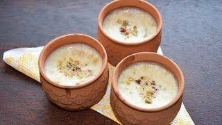 Shahi Kheer Indian Dessert Recipe (Paneer Kheer)