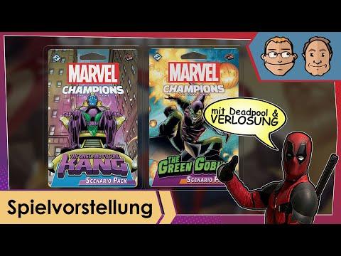 Marvel Champions: Das Kartenspiel – Kang & Green Goblin Szenario-Pack – Spielvorstellung & Verlosung
