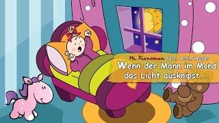 Kinderlieder Deutsch - Wenn Der Mann Im Mond Das Licht Ausknipst - Schlaflied