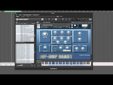#1 Hip-Hop Kontakt 5 Library (Hip-Hop Beast)