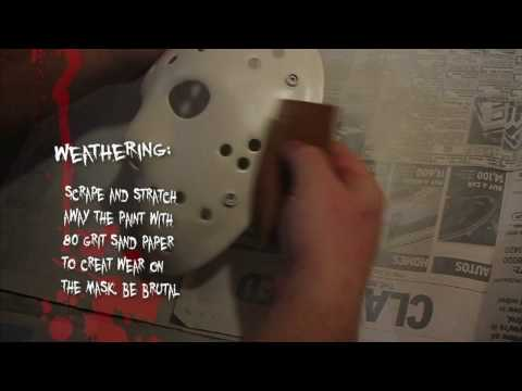 Howto: Friday The 13th hockey mask