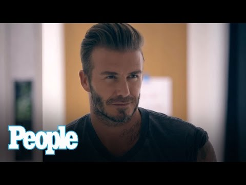 David Beckham's Teaching Us British Slang (Naughty Words Included) | Sexiest Man Alive | PEOPLE